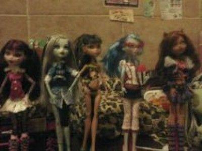 Las Monster High de Sofy