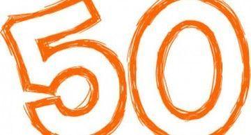 Esta semana ha estado marcada por el número 50 (y sus múltiplos…)