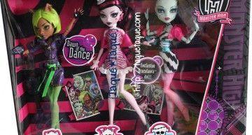 Monster High: novedades a la venta en España, unos 6 meses después de Estados Unidos, Inglaterra, México…