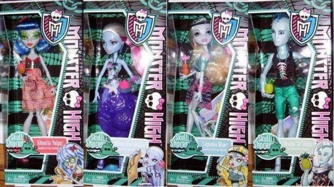Monster High - Skull Shores (se están subastando en eBay hasta el 20 de octubre)