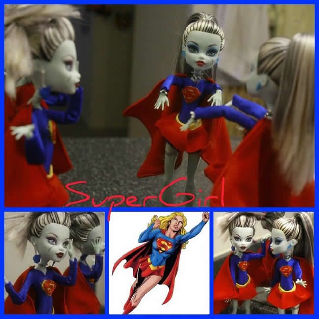 "(c) Catzilerella: Frankie como ""Super Monster"""