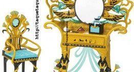 Monster High – Novedades 2012: el Tocador egipcio de Cleo de Nile. ¡¡¡Precioso!!!