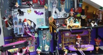Vuestras fotos, vuestras historias: el look navideño de los Monster High de Andrea, Paula, Lucía y Helena