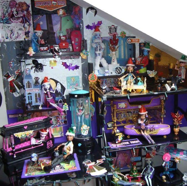 Los Monster High de Paula, Andrea, Lucía y Helena ya tienen look navideño