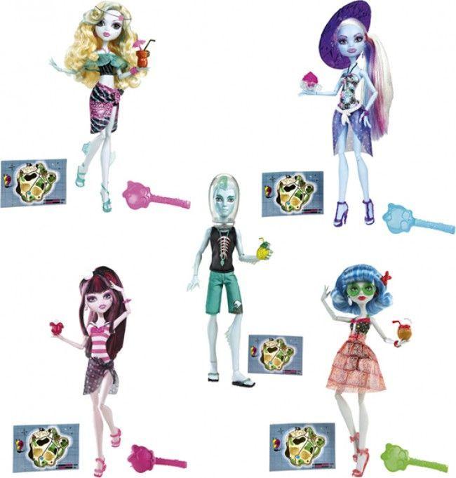 Monster High - Colección Skull Shores