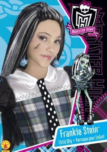 Monster High - Peluca de Frankie Stein