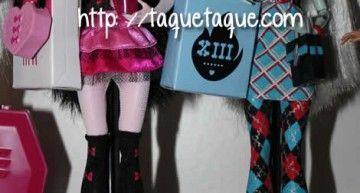 Que no panda el cúnico!!! Aún quedan Monster High fuera de España!!! (11): ropa para nuestr@s chic@s