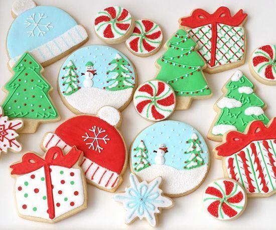 Galletas decoradas DIY para Navidad
