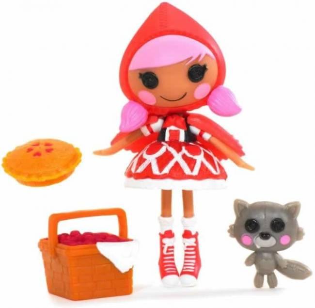 mini Lalalopsy Fairy Tales (cuentos) - Scarlet (Red Riding Hood, Caperucita Roja)