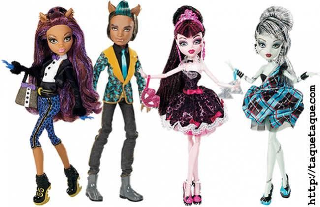 Monster High - La colección Sweet 1600 llegará a Europa en Enero de 2012