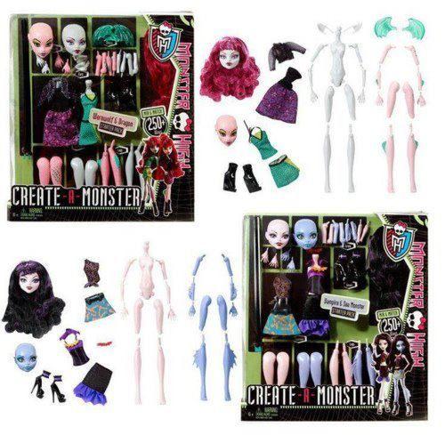 Packs básicos Create-A-Monster