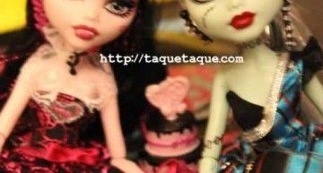 Draculaura y Frankie Sweet 1600 a 29,99€ en Amazon Alemania, y envío gratis