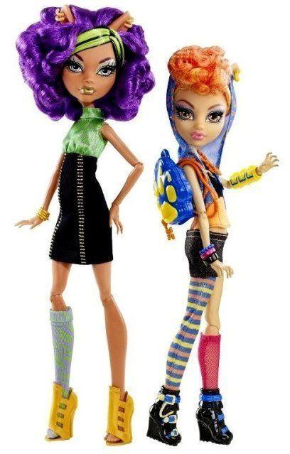 Monster High: el pack de hermanas Wolf, Clawdeen y Howleen