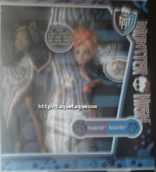 Mi colección Monster High: el pack de hermanas Wolf, Howleen y Clawdeen