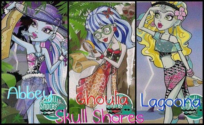 Este es el collage que me ha tocado en http://fansmonterhigh.blogspot.com.es