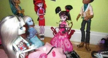 Reto de Marzo de 2012: los DIYs de Carmencita y Marina para celebrar el 1600 cumplespantos de Draculaura