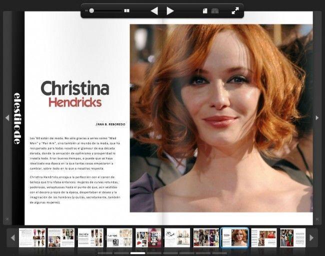 Este el artículo que escribí para LANNE Magazine sobre Christina Hendricks, publicado en el nº 12 (marzo 2012)
