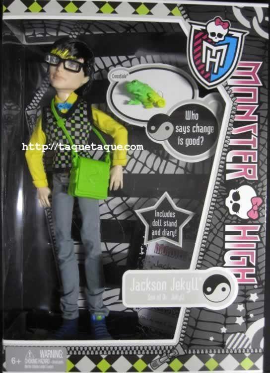 Monster High 2012 - Jackson Jekyll
