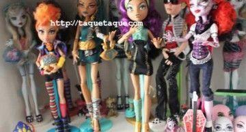 Mi colección de muñecas Monster High al completo