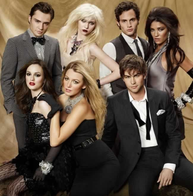 Gossip Girl - Blair Waldorf Serena Daniel Humprey Neith Archivald Jenny Vanessa Chuck