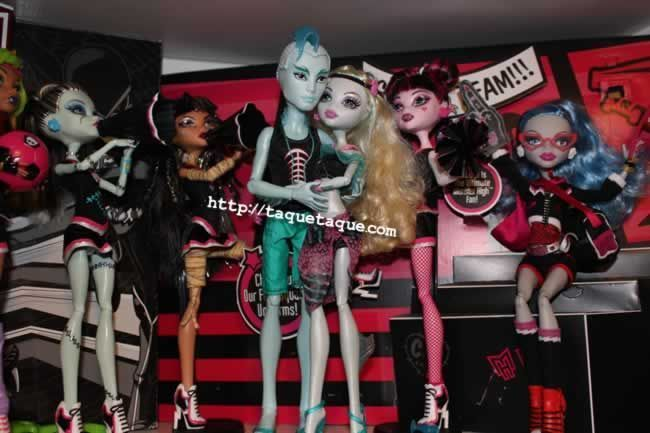 Gil Webber ya forma parte de mi colección Monster High