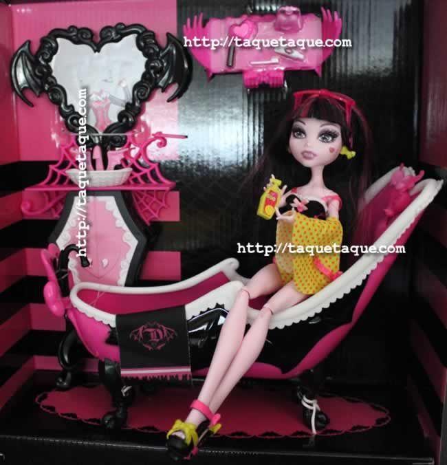 Monster High - Bañera Draculaura
