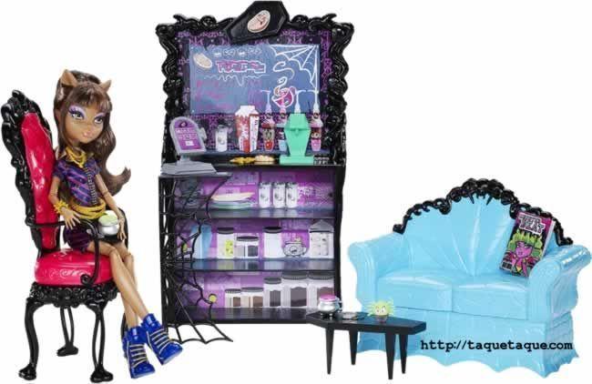 Monster High - Coffin Bean (La Cafeterroría de Clawdeen)