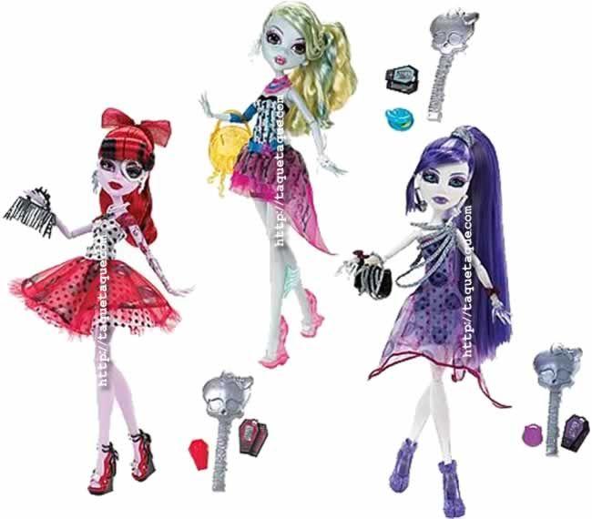Monster High - Dot Dead Gorgeous Wave 1 (Operetta, Lagoona Blue y Spectra Vondergeist)