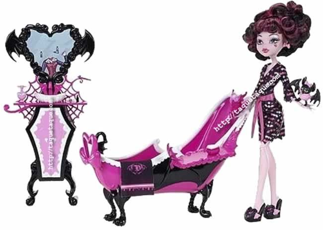 Monster High - Draculaura and her Bathroom