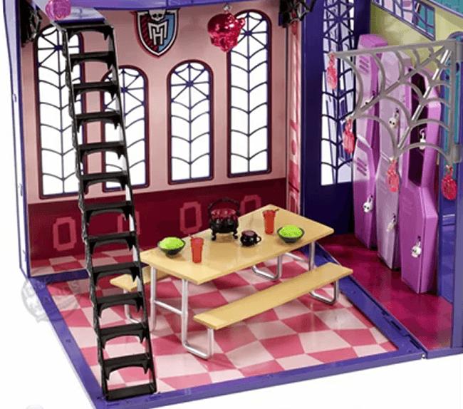 Monster High - Instituto (Cafeterroría)