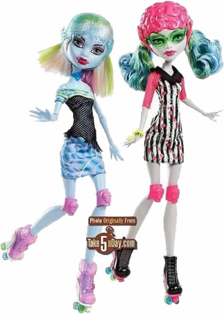 Monster High - Roller Maze - Abbey & Ghoulia