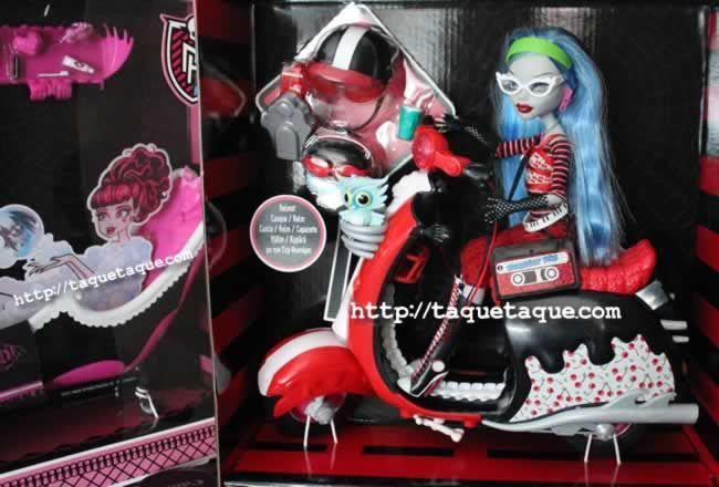 Monster High - Scooter Ghoulia