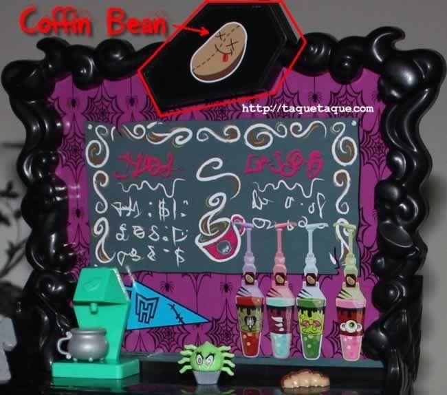 """Coffin Bean: """"el ataud de la judía"""", jejeje"""