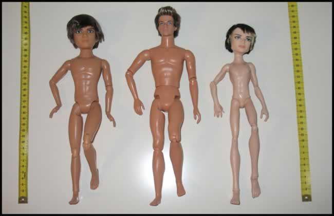 Muñecos articulados - comparativa de cuerpos