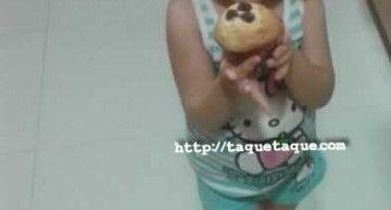 Una hadita madrina llamada Ainoa: en vez de varita mágica, usa muffins de frambuesa