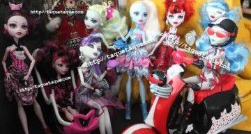 "Las ""Dot Dead Gorgeous"" a 16,98€ en Amazon Francia || The ""Dot Dead Gorgeous"" dolls at 16,98€ in Amazon France"