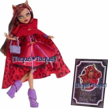 "Monster High - Scarily Ever After: Clawdeen Wolf es Caperucita Roja (""Little Dead Riding Wolf"")"