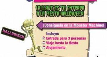 Prepara tu Fiesta de Halloween con Frankie en es.monsterhighalloween.com ||  Prepare your Halloween Party with Frankie in es.monsterhighalloween.com