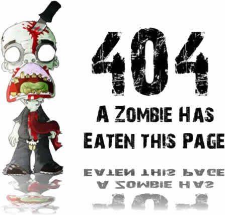 Error 404: un Zombie se ha comido esta página... ¡Y un *uerno! Esto de los de juanYjuan hasta los piiiiiii