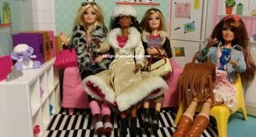 Tuneos y mestizajes: fotos de mis nuevas Barbie Style Luxe con accesorios Monster High, Ever After High, Lalaloopsy e IKEA