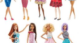 Las Barbies Fashionistas siguen siendo tiesas